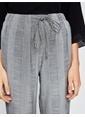Koton Şerit Detaylı Havuç Pantolon Siyah
